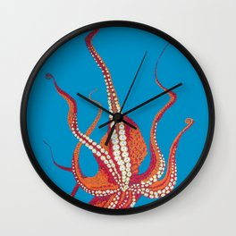 Stitches: Octopus Wall Clock