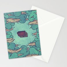 Away from Everything Stationery Cards