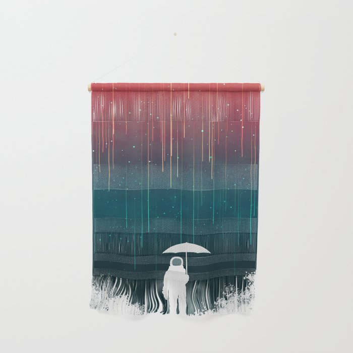 Meteoric rainfall Wall Hanging
