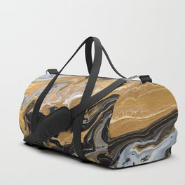 Gold Vein Marble Duffle Bag