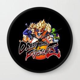 Dragon-Ball-FighterZ Wall Clock