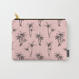 Cali Palms Pink Carry-All Pouch