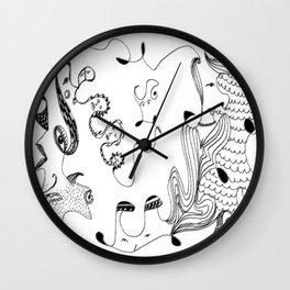 Calm as a bomb #2 Wall Clock