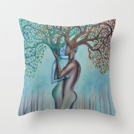 Here Forever Throw Pillow