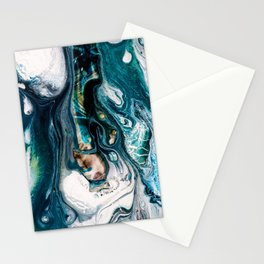 Abstract Melt VIII Stationery Cards