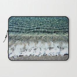 Clear Captiva Waves Laptop Sleeve