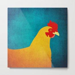 Chicken Metal Print