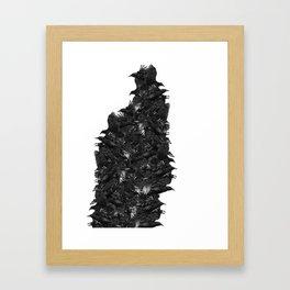 Leave my loneliness unbroken! Framed Art Print