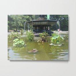 NYC Central park Bethesda fountain Metal Print