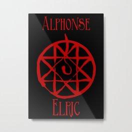 Alphonse Metal Print