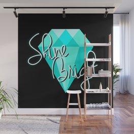 Diamond - Shine Bright. Wall Mural