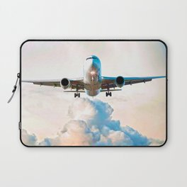 The Miracle of Flight Laptop Sleeve