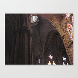La Basílica del Sagrado Voto Nacional, Cuatro Canvas Print