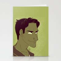 michael scott Stationery Cards featuring Scott by The Art of Nicole