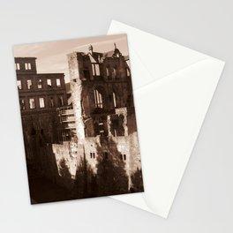 Ruins in Heidelberg Stationery Cards