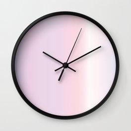 Pink Ballerina Gradient Wall Clock