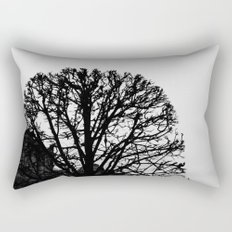 Tree Silhouette Rectangular Pillow