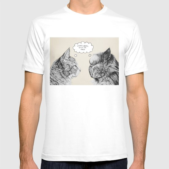 Cat Confusion T-shirt