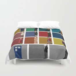 Doctor Who 2 Duvet Cover