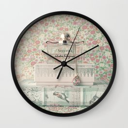 Sweet Scent in my Memory Wall Clock