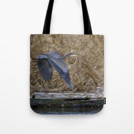 Flight of the Heron No. 2 Tote Bag