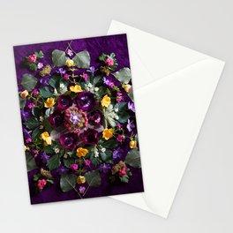 May Flowers Mandala Stationery Cards