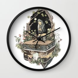 the priest Wall Clock