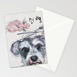My dog groomer | By Sarah Cannon Stationery Cards