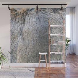 Rabbit Fur Wall Mural