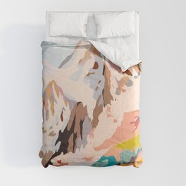 glass mountains Comforters
