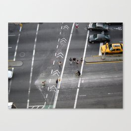 The Bowery, NYC 2011 Canvas Print