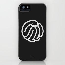 babble · negative ⎌ iPhone Case