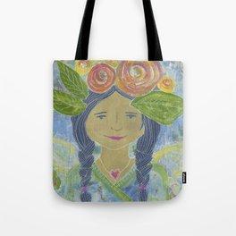 Angel Warrior Maritza Tote Bag