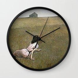Christina's World - Andrew Wyeth Wall Clock