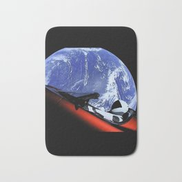 SpaceX Oddity Cars Bath Mat