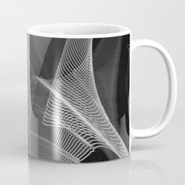 Echoes VIII - Black and White Coffee Mug