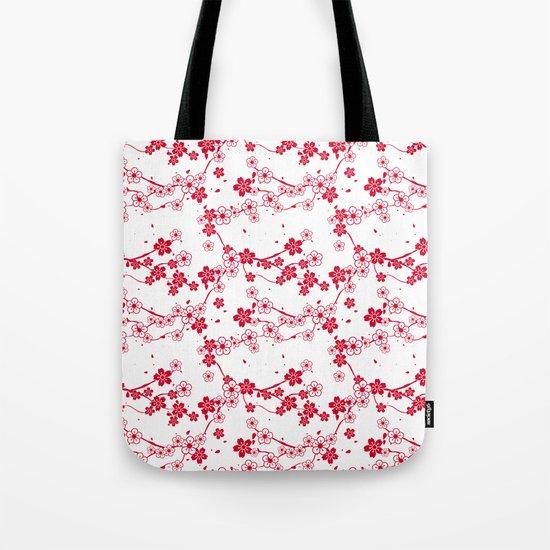 Cherry Pattern Tote Bag