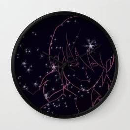 Starry Marinette Wall Clock