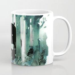A Quiet Spot (in green) Coffee Mug