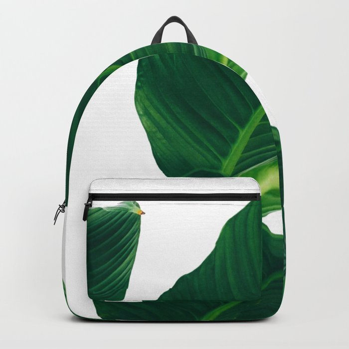 Green Leafs (Color) Backpack