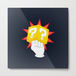 Power to the Plumbers Metal Print