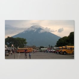 Chicken Buses! Canvas Print
