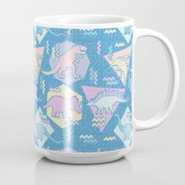 Nineties Dinosaurs Pattern  - Pastel version Coffee Mug