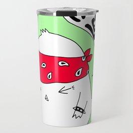 Punk Chick Travel Mug