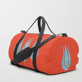 Turkish Tulips ethic design Duffle Bag