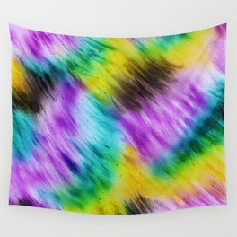 Rainbow furs Wall Tapestry