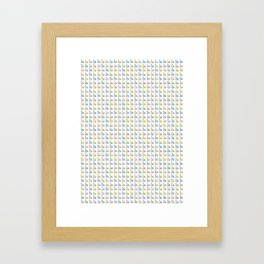 Cats Repeat Pattern Framed Art Print