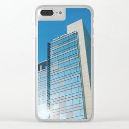 Random Building Clear iPhone Case