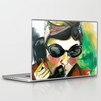 amelie Laptop & iPad Skins featuring Amelie by Gra Pereira