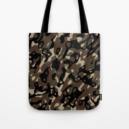 Camouflage Abstract Tote Bag
